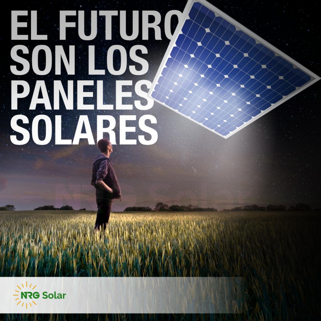 el futuro son los paneles solares