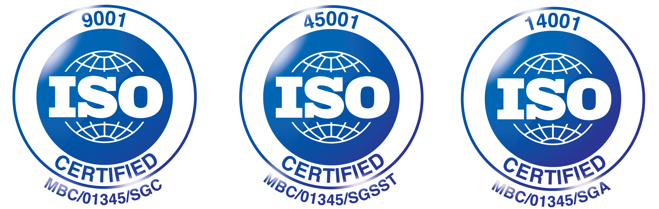 ISO-9001--45001--14001